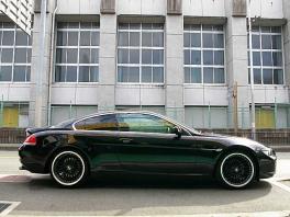 BMW 6シリーズ  630i 純正HDDナビ 赤革/SR 前方