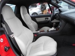 BMW Z3  ロードスター 3.0i 白レザーインテリア ライトレッド 4枚目
