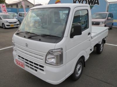 スズキ キャリイ トラック  KC 4WD AC PS MT 9km 白 費用込92.9万円 1枚目