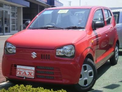 スズキ アルト  660 L 届出済未使用車 エネチャージ エコクール キーレス CDステレオ  1枚目