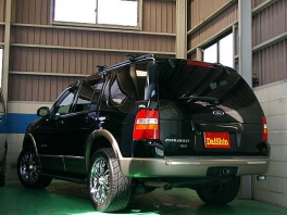 フォード エクスプローラー  XLT HDDナビ&ETC 20AW 後方
