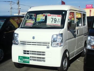 スズキ エブリイ  660 PA ハイルーフ 届出済未使用車メーカー保証付 ホワイト 1枚目