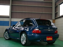 BMW Z3  Z3クーペ3.0i 後期最終モデル 青革 後方