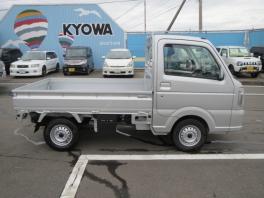 スズキ キャリイ トラック  KX 4WD シルバー 上級グレード 7km 費用込96.9万円 装備充実  4枚目