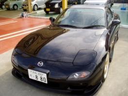 マツダ RX-7  RB 前方