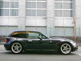 BMW Z3  Z3クーペ タン革 ガルウイング車輌 前方